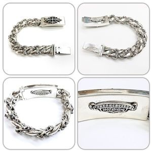 Chrome Hearts Sterling 925 Bracelets Diamond 1997